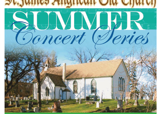 St. James Anglican Church 2018 Summer Series Concert